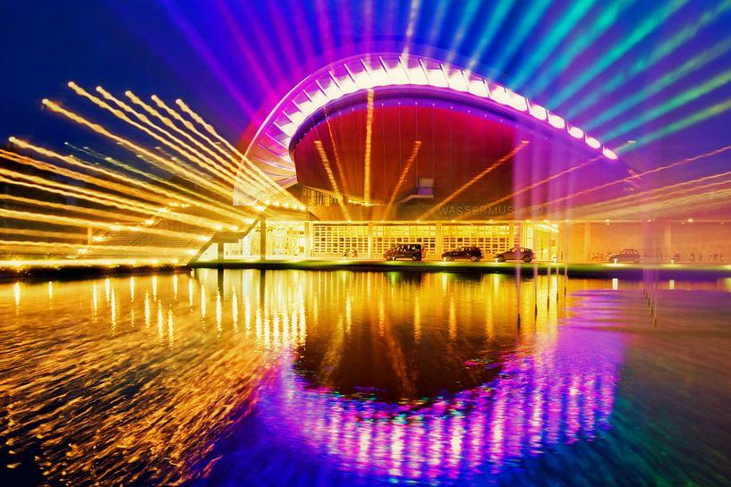 Berlin at Night: Haus der Kulturen der Welt van Alexander Voss