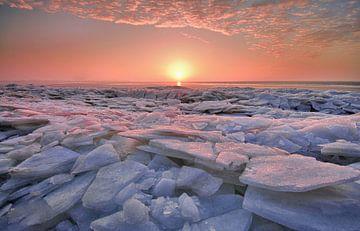 Kruiend ijs sur John Leeninga