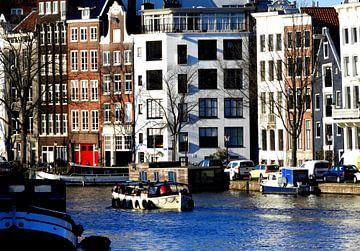 Bootje op de Amstel van Laura Balvers