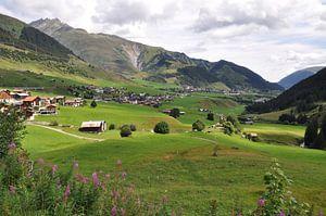 Mooi uitzicht in de Alpen van