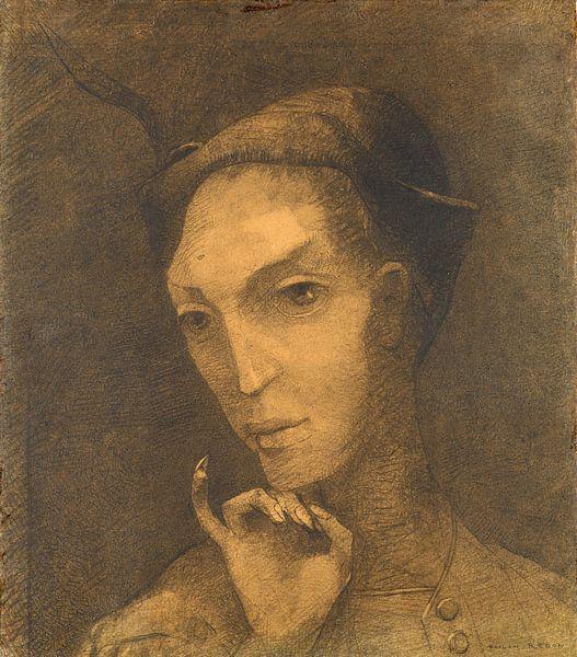 Mephistopheles, Odilon Redon von Meesterlijcke Meesters