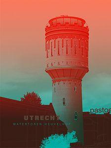 Wasserturm Heuvelhof von Gilmar Pattipeilohy