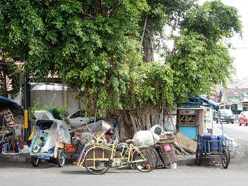 Streetlife in Yogyakarta von Christine Volpert