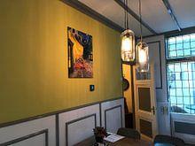 Kundenfoto: Caféterrasse am Abend (Vincent van Gogh) von Rebel Ontwerp