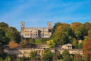 Albrechtsberg Castle, Dresden van