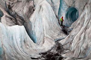 Gletsjer Hike, IJsland van Martijn Smeets