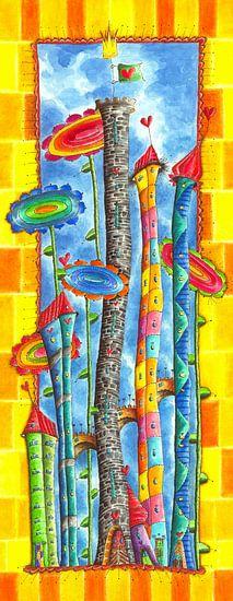 Windblumen Land 4 von Atelier BuntePunkt