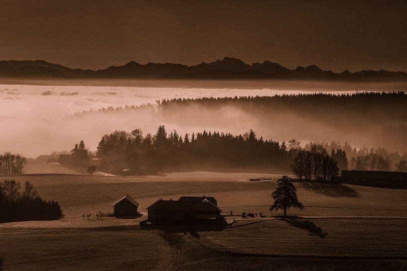 Nebelstimmung von Rudolf Brandstätter