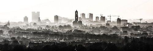 De Domtoren waakt over Utrecht. van