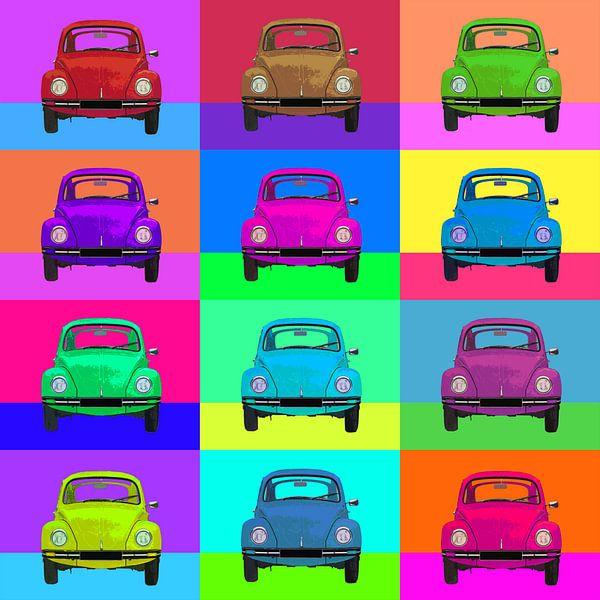 Pop Art VW Käfer von Joost Hogervorst