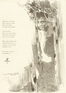 Gedicht, Maurice Denis, 1894 von Atelier Liesjes