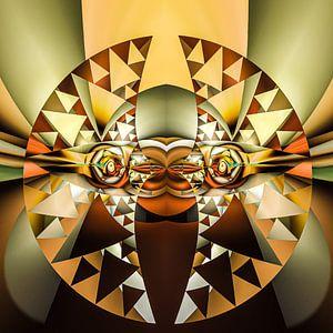 Phantasievolle abstrakte Twirl-Illustration 76/25