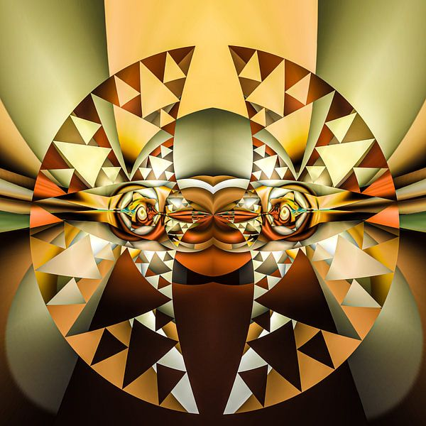 Phantasievolle abstrakte Twirl-Illustration 76/25 von PICTURES MAKE MOMENTS