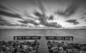 Wolken in beweging