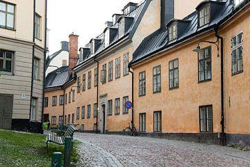 Straßenfotografie in der schwedischen Stadt Stockholm von Karijn Seldam