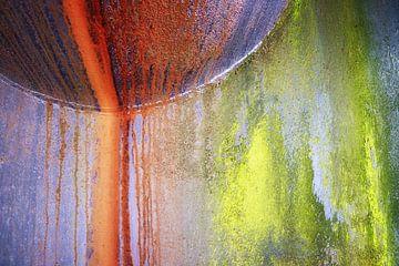 Kleurrijk staal van Jan Brons