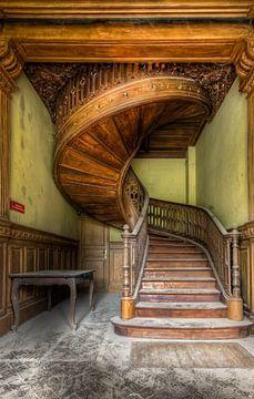 Treppenhaus aus reiner Handwerkskunst von Roman Robroek