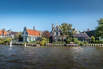 Huisjes op de Zaanse Schans van Okko Meijer