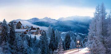 Panorama de Serfaus, Autriche sur Christa Thieme-Krus