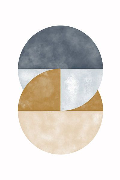 stroomcirkel van Munich Art Prints