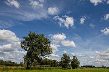Wolken luchten van Peter Haastrecht, van