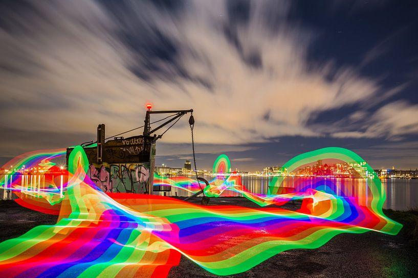 Regenboogweg van Jeroen de Jongh