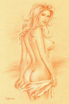 Traumfrau - erotische Zeichnungen von Marita Zacharias