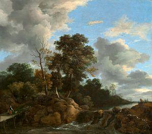 Landschap, Jacob van Ruisdael (gezien bij vtwonen)