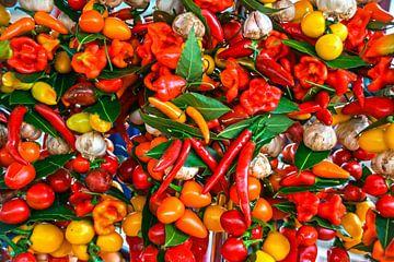 fruits sur le marché sur Stefan Havadi-Nagy