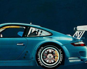 Porsche GT3 RS Cup 2008 van Jan Keteleer