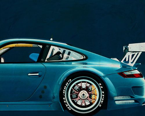 Porsche GT3 RS Cup 2008 von Jan Keteleer