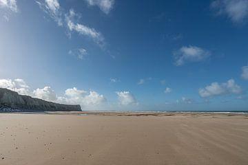 Strand en kliffen aan de Opaalkust van Mickéle Godderis