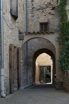Mittelalterliche Straße France Venasque von Cor Pater
