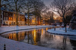 Maliesingel met laatste licht (winter 2021) van Robin Pics (verliefd op Utrecht)