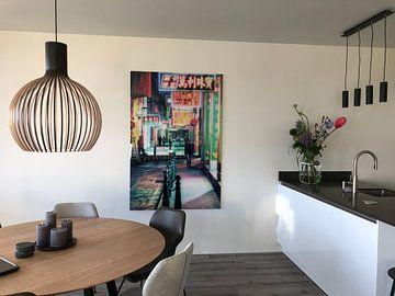 Kundenfoto: Under Neon Loneliness von Cho Tang