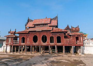 Nyaungshwe Township: Shwe Yan Pyay Klooster van Maarten Verhees