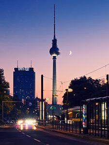 Berlin – TV Tower / Sunset