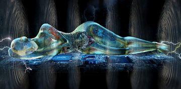 Digitale Nymphe von Atelier Liesjes