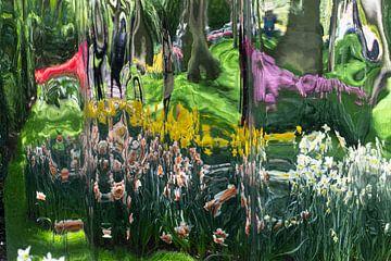 Mindfucking - Blumen - Spiegeln von Marly De Kok