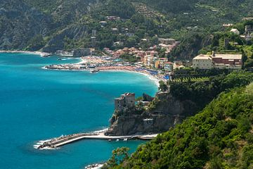Monterosso al Mare, Cinque Terre, Riviera di Levante van Peter Schickert