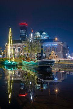 Leeuwarden bei Nacht von Alex De Haan