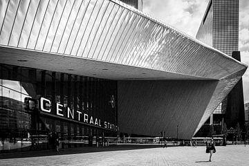 Rotterdam Hauptbahnhof von Jeanette van Starkenburg
