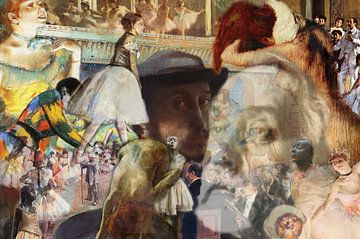 Masters at work, Edgar Degas van Giovani Zanolino
