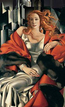 Lempicka & Botticelli in New York von Jerome Coppo