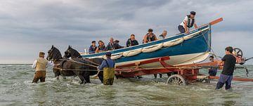 Ruderrettungsboot Insel Terschelling von Roel Ovinge