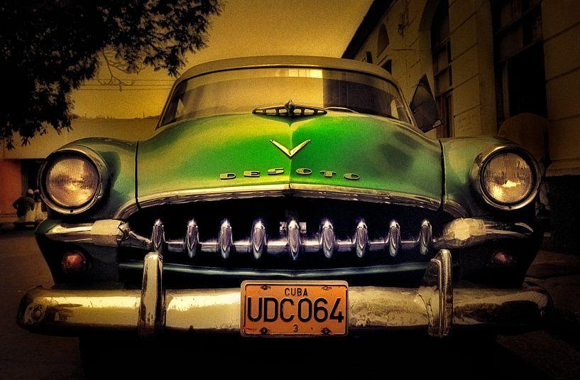 Oldtimer Desoto in Cuba van M DH