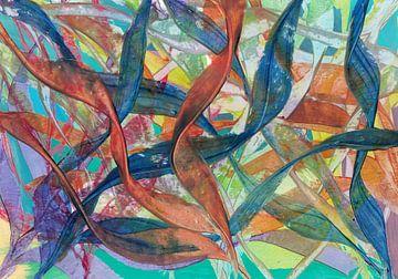 Gekleurde bladeren van Bethina de Reus