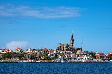 Blick auf die Stadt Lysekil in Schweden von Rico Ködder