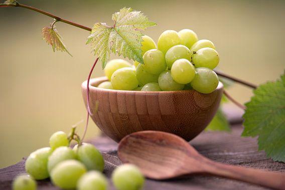 Druiven in voedselontwerp