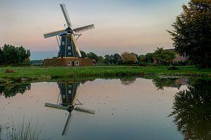 Molen De Bataaf in Winterswijk in HDR